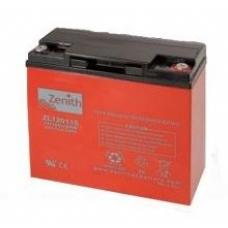 Аккумулятор ZENITH ZL120115 - 13/18Ah